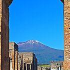 Pompeii And Vesuvius V by Al Bourassa