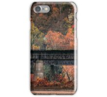 Harpers Ferry Wv Railroad Fall Colors Photo iPhone Case/Skin
