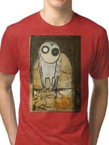 O for Owl Tri-blend T-Shirt