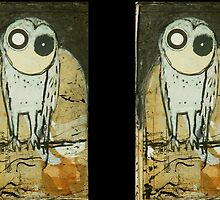 O for Owl by donnamalone