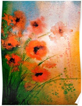 The Poppy Journals...Impressions by © Janis Zroback