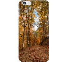 Harpers Ferry Wv Fall Trail Photo iPhone Case/Skin