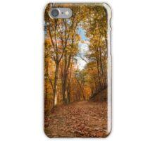Harpers Ferry Wv Fall Trail Photo iPhone Case/Skin