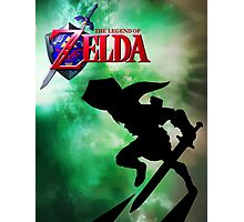 The Legend of Zelda Fan Poster - Link Photographic Print