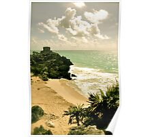 Ruinas en La Costa Poster