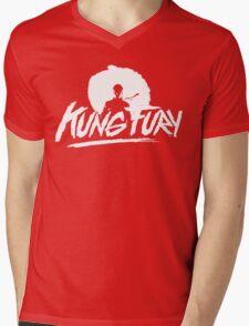 Kung Fury Mens V-Neck T-Shirt
