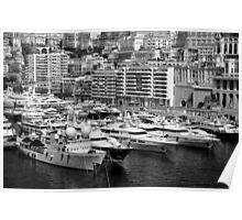 Monte Carlo Yachts Poster