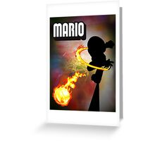 Mario Bros. Fan Poster - Mario Greeting Card
