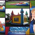 Moonbounce Slider Fun by Debbie Robbins