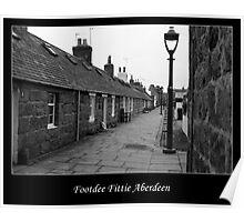 Footdee Fittie Aberdeen Poster