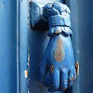 added to my collection: a blue door knocker by bubblehex08