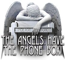 Angels have the phone box by bmgdesigns