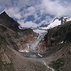 Tour du Mont Blanc - Glacier de Pre de Bar by Kat Simmons