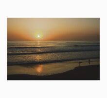 California Surfing Sunset - Pacific Beach, San Diego, California One Piece - Long Sleeve