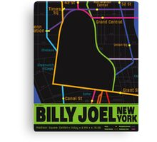 Billy Joel Poster Canvas Print