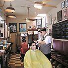 Hawleywood's Barber Shop by deepbluwater
