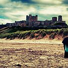 Bamburgh Castle by Simon Marsden