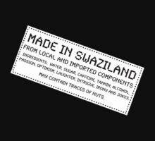 Traces Of Nuts - Swaziland by Ron Marton