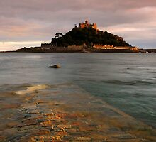 St Michaels Mount Causeway by Rachel Slater