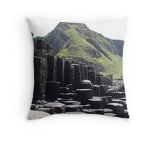 Rocks from the sea Throw Pillow