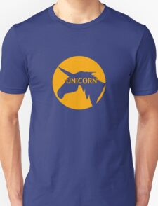 Unicorn sun traffic sign  T-Shirt