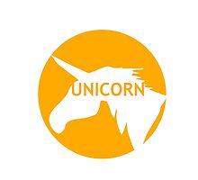 Unicorn sun traffic sign  by SofiaYoushi