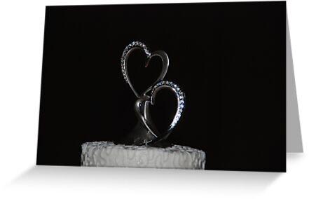 Heart-Shaped Cake by Vonnie Murfin