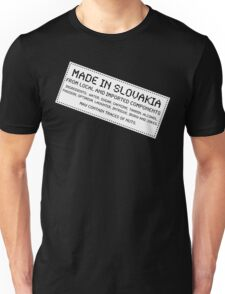 Traces of Nuts - Slovakia Unisex T-Shirt
