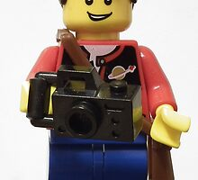 Lego Photographer by Peter Barrett