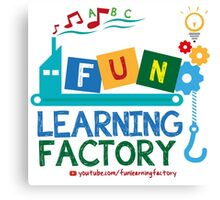 Fun Learning Factory Official Logo Canvas Print