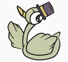 Top hat Mr.Duck One Piece - Short Sleeve