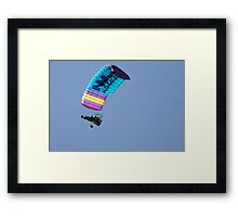 Flying High and Having Fun Framed Print
