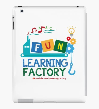 Fun Learning Factory Official Logo iPad Case/Skin