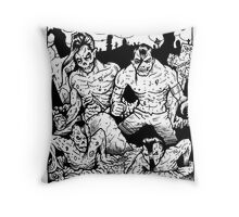 Misfits Comic-book Style Throw Pillow
