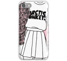 Arctic Monkeys girl outline TUMBLR iPhone Case/Skin