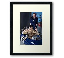 Pitstop series #2 Framed Print