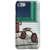 Vintage Toy Tractor iPhone Case/Skin