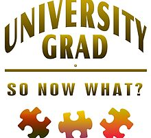 University Grad Now What by Vy Solomatenko