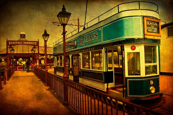 Tram At Seaton by ajgosling
