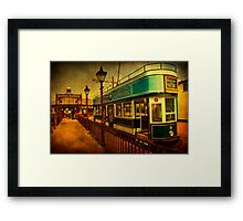 Tram At Seaton Framed Print