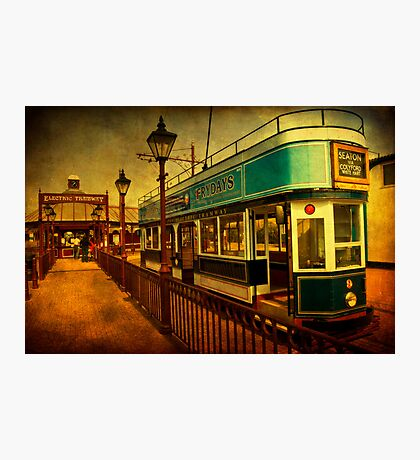 Tram At Seaton Photographic Print