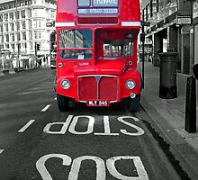 Big Red Bus by David Bradbury