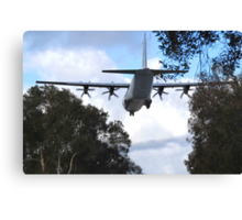 Hercules - Richmond RAAF Base NSW Australia Canvas Print