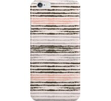 Horizontal brush strokes iPhone Case/Skin