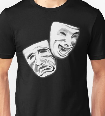 Theatre Faces Unisex T-Shirt
