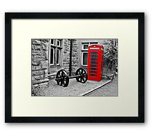 Telephone Box Framed Print
