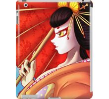 Red Geisha  iPad Case/Skin