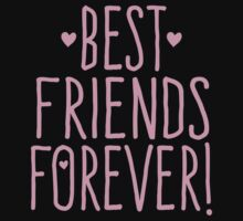 BEST FRIENDS FOREVER in pink One Piece - Short Sleeve