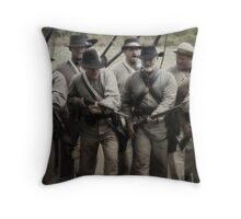 CHARGE!!!! Throw Pillow