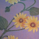 Wildflowers: Sunflowers by Susan Genge